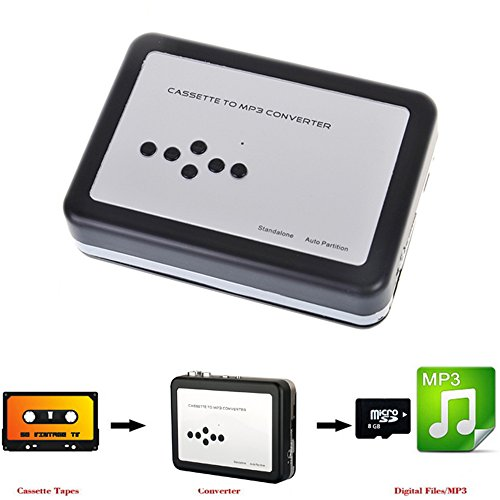 Cassette Tape to MP3 Converter Portable Tape to MP3 Player U