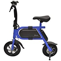 Hover-Way Model P10 Collapsible 12 MPH Electric Scooter Sprinter Bike, 12 Mile Range
