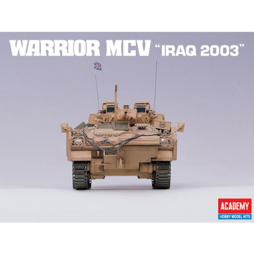 Academy Warrior MCV 'Iraq 2003' Military Land Vehicle Model Building Kit by Academy Models (Image #5)