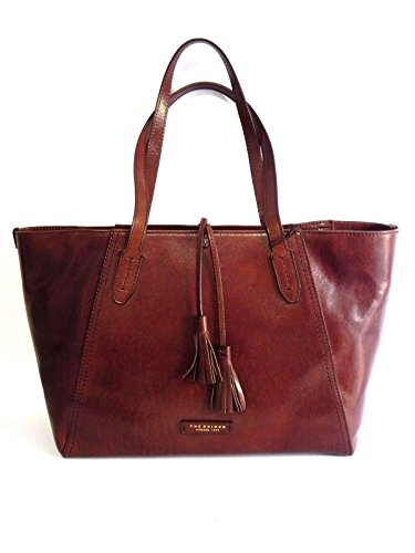 BORSA THE BRIDGE FLORENTIN SHOPPER 04344701 14 MARRONE