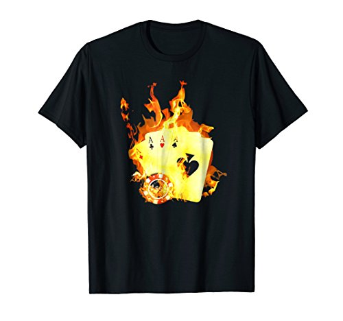 Vintage Las Vegas Casino - Las Vegas T-Shirt Poker Vintage Casino Fun Ace Souvenir Tee