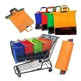 Bolsas Ecologicas para Carrito de Supermercado Reutilizables para Frutas y Verduras