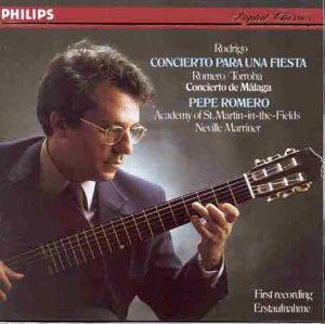 Romero, Joaquin Rodrigo - Concierto Para Una Fiesta - Amazon.com Music