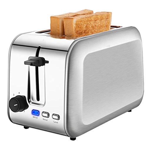 2 Slice Toaster, CUSIBOX Stainle...