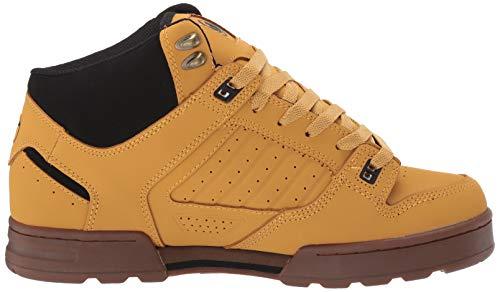 Skateboard maschile Militia Boot Nubuck Mfm Scarpe Shoes Tan Dvs xZqaXgY