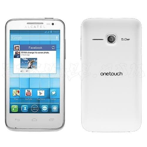 Alcatel One Touch M'Pop 5020w Android SmartPhone  - White