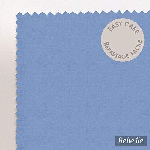 Linnea Housse de Couette uni 280x240 cm 100% Coton Alto Belle ile