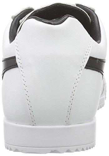Gola Harrier Leather - Zapatillas Mujer Blanco (White/Black)