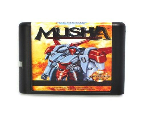 Taka Co 16 Bit Sega MD Game MUSHA 16 bit MD Game Card For Sega Mega Drive For Genesis