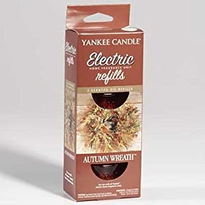 Yankee Candle Autumn Wreath Electric Home Fragrance Refills (Two) 77
