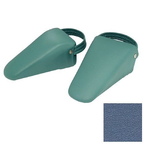 Earthlite Sacral Blocks, Mystic Blue 2 ea - 4w Blue Wedge