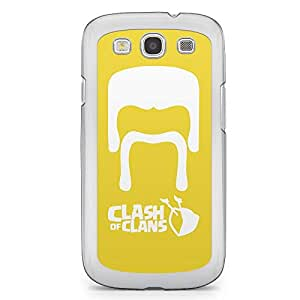 Clash of Clans Samsung Galaxy S3 Transparent Edge Case - Barbarian