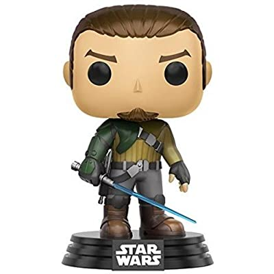 Funko Star Wars Rebels Kanan Pop Figure: Funko Pop! Star Wars:: Toys & Games