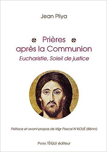 Prières après la communion pdf, epub ebook