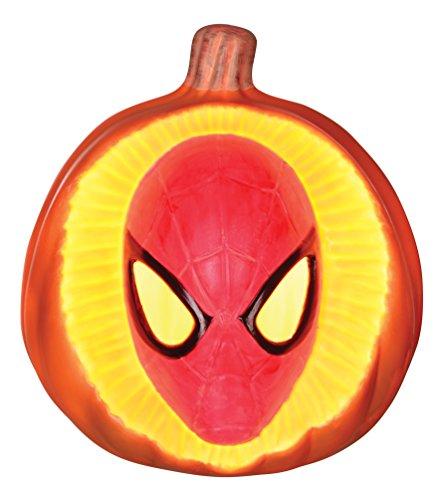 Marvel Spider-Man 3D Light Up Pumpkin ()