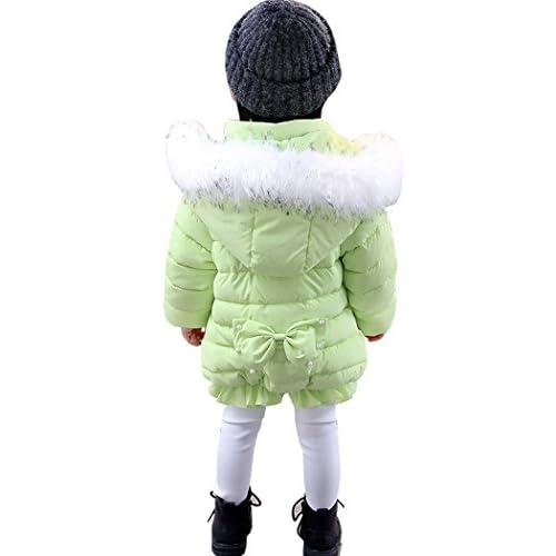 AnKoee Bébé Filles Manteau Veste Chaud Hiver Cape Blousons Vêtements Chauds Enfants Blouson