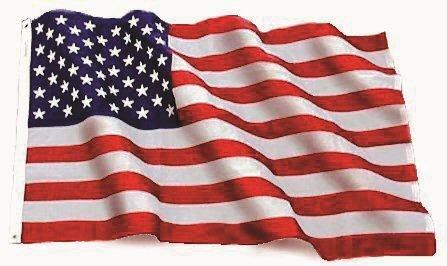 10x15 Embroidered U.S. USA American Flag Sewn Stripes Nylon 10'x15'