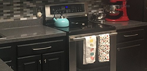 Soapstone Countertop Look: Dark Gray Soapstone Countertop Peel and Stick Faux Stone 72''x 36'' DIY Counter Top Not Grandma's Contact Paper by EzFaux Decor
