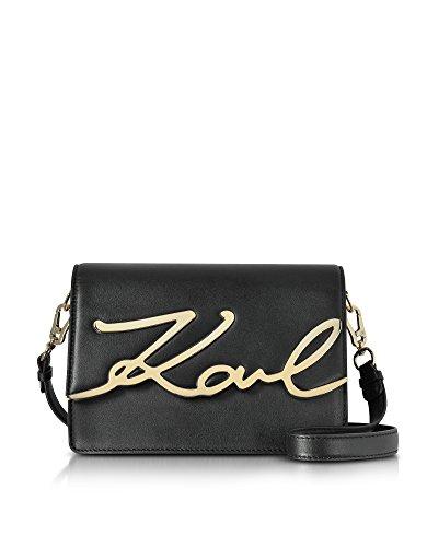 Karl Lagerfeld Borsa A Spalla Donna 71KW3026 Pelle Nero