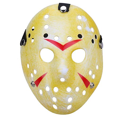 Laz-Tipa - Mascara Jason Mask Halloween Mask Masquerade Horror Funny Mask Festival Parrty Supplies Costumes Party Favor Halloween -