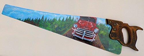 painted-sawblade-vintage-red-truck