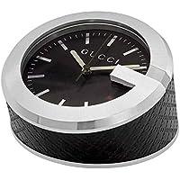 Gucci Black Diamond Pattern Table Clock