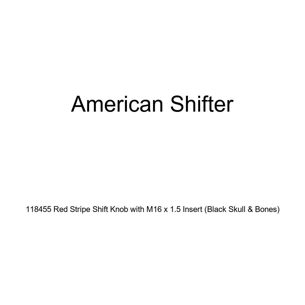 American Shifter 32714 Ivory Shift Knob with 16mm x 1.5 Insert Black Star of David