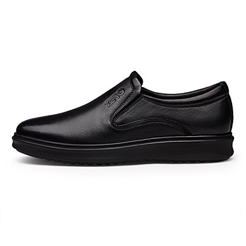 ZRO Mens Fashion Twin Gore Flat Slip On Shoe Slip Resistant Black RP0N9Xx