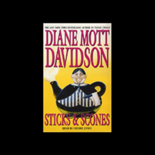 Sticks and Scones by Bantam Doubleday Dell Audio