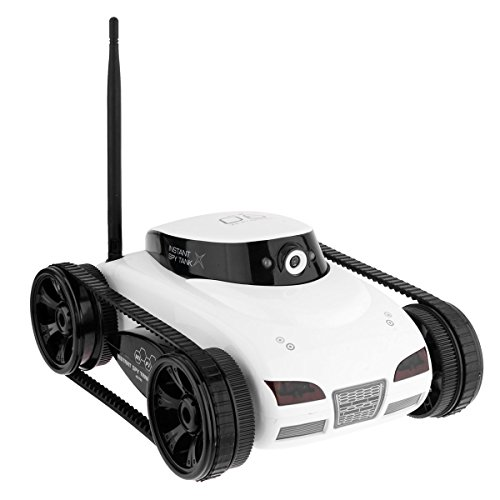 Video Car Spy (HappyCow 777-287 Tank PG With Camera Via A Wi-Fi Network (Random Color))