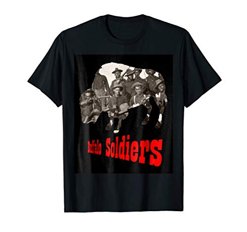 The Real Buffalo Soldiers 9th 10th Cavalry T shirt