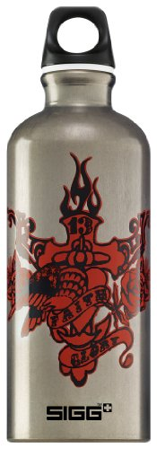 Sigg Water Bottle, Faith & Glory, 0.6 Liter