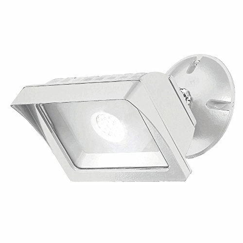 Designers Fountain FL2016N40-06 Integrated Led Adjustable Single-Head White Outdoor Flood Light, 1775 lm, -