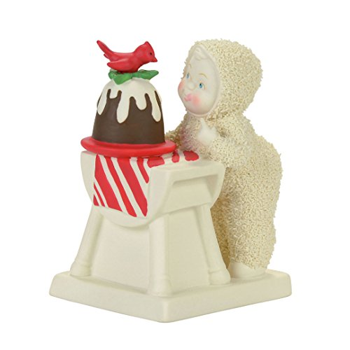 "Department 56 Snowbabies ""Tasting The Pudding"" Porcelain Figurine, 4.13"""
