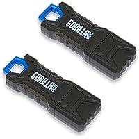 GorillaDrive 2 Pack 32GB Ruggedized USB Flash Drive