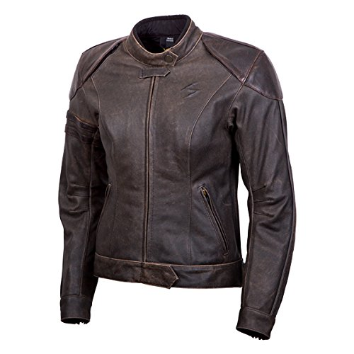 Scorpion EXO Women's Catalina Brown Leather Jacket, 2XL