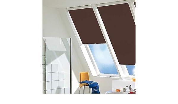 Tipo persiana foldersys, cadena estor 122 cm x 140 cm de altura de tela colour 040.76/verde (deja pasar la luz), Colour, perfil blanco, rollo, parasol, privacidad/122 x 140: Amazon.es: Hogar