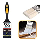 Paint Roller Kit, Paint Roller Covers, Paint Roller Frame, Roller Paint Brush, Paint Roller Tray Set 9 inch 4 inch, 9 Pieces
