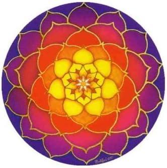 Sunrise Lotus – Mandala Arte Dos Cara círculo ventana adhesivo – gastos de envío gratis.: Amazon.es: Hogar