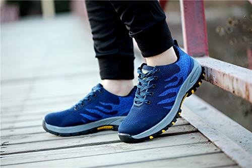 populalar Scarpe Stivali Uomo Low 34 da 45 Trekking Top Arrampicata EU Donna Blue All'aperto Sportive Escursionismo Sneakers rTr7nFB