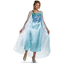 Disguise Women's Disney Frozen Elsa Deluxe Costume