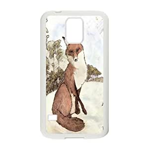 JenneySt Phone CaseFunny Fox For Samsung Galaxy S5 -CASE-14