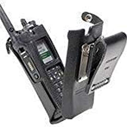 Dual Display Portable Leather Flip Carry Case for NNTN7038 battery Motorola PMLN5560