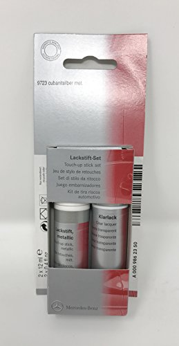 Mercedes Benz Genuine Touch-Up Paint Cabanite Silver 723