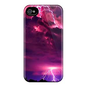 Mialisabblake Scratch-free Phone Case For Iphone 4/4s- Retail Packaging - Dramatic Force Of Nature