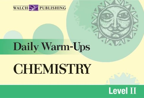Daily Warm-Ups: Chemistry, Level II