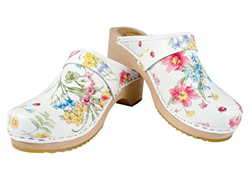 Summer Schwedenclogs Standardclogs Damenclogs Flower Clogs Orginal MB gv8w0xWvU