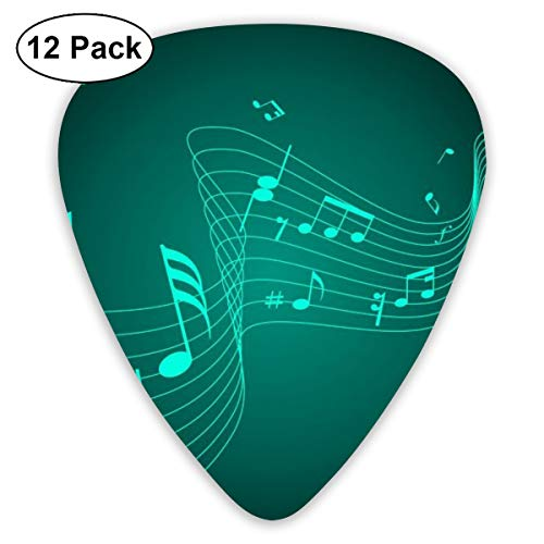 V5DGFJH.B Music Notation-Music-Wallpaper-HD-1080p-42 Classic Guitar Pick Player's Pack for Electric Guitar,Acoustic Guitar,Mandolin,Guitar Bass -
