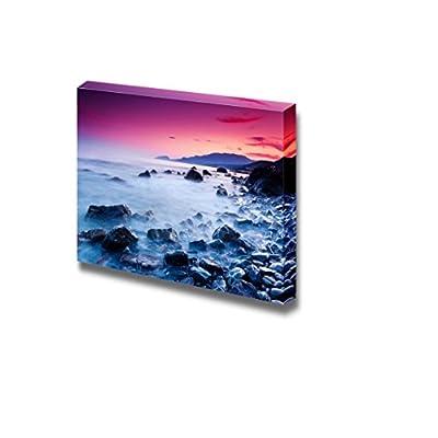 Canvas Prints Wall Art - Majestic Summer Sunset Over The Sea. Dramatic Sky. Crimea, Ukraine, Europe. Beauty World. - 32