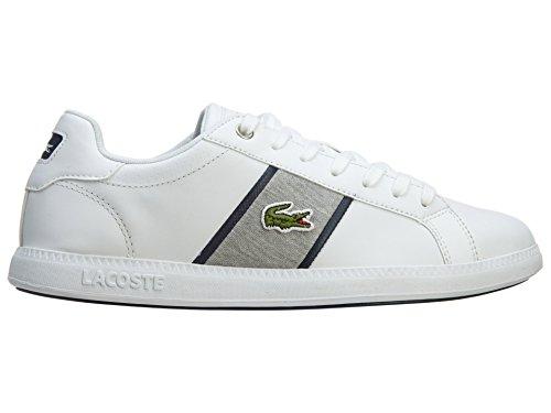 Lacoste Afgestudeerde Evo Grv Witte Heren Sneakers 8 Us